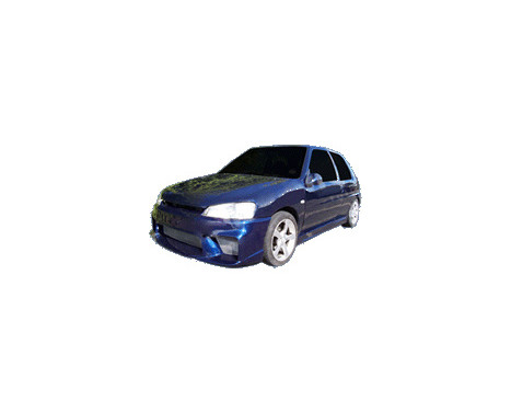 IBherdesign Pare-chocs avant Peugeot 106 MKII 1996- 'Wizard' avec maillage