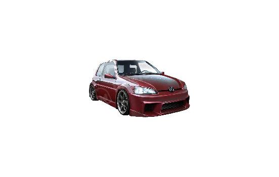 IBherdesign Pare-chocs avant Peugeot 106 MKII 1996- 'Wizard Wide'