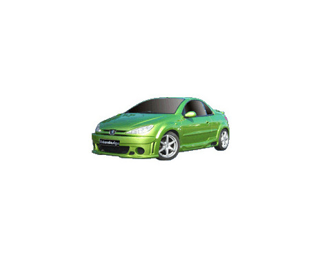IBherdesign Pare-chocs avant Peugeot 206 'Runner Wide'