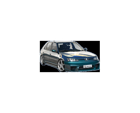 IBherdesign Pare-chocs avant Peugeot 306 1997- Phase II 'Voltage'