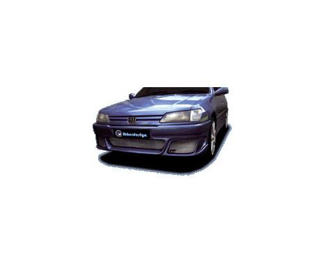 IBherdesign Pare-chocs avant Peugeot 306 Phase I 'Sygnus' avec filet