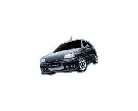IBherdesign Pare-chocs avant Renault Clio MK1 1990-1998 'X-Plore' avec lampes, Image 2