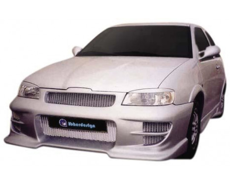 IBherdesign Pare-chocs avant Seat Ibiza 1999-2002 'Eclipse' avec filet