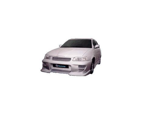 IBherdesign Pare-chocs avant Seat Ibiza 1999-2002 'Eclipse' avec filet, Image 2