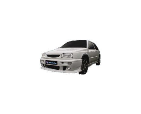 IBherdesign Pare-chocs avant Volkswagen Golf III 'Visage' avec lampes / filet, Image 2