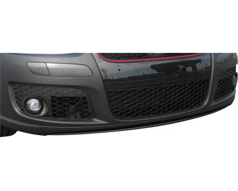 Jeu de calandres pare-chocs Volkswagen Golf V GTi / GT 2003- + Jetta 2005- avec découpes de phares antibrouillard