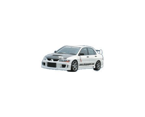 Pare-chocs avant CharSpeed Mitsubishi Lancer EVO 8/9 CT9A Type1 (FRP)