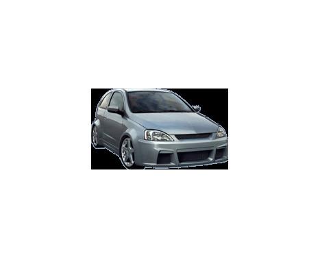 Pare-chocs avant IBherdesign Opel Corsa C 9/2000 - «Hypnose»