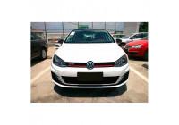 Pare-chocs avant Volkswagen Golf VII 2012- 'GTi-Look' avec grils et feux de brouillard (PP)