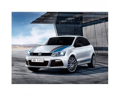 Pare-chocs avant Volkswagen Polo 6R 2009-2014 'R-Look' avec grils et feux de jour (PP), Image 2
