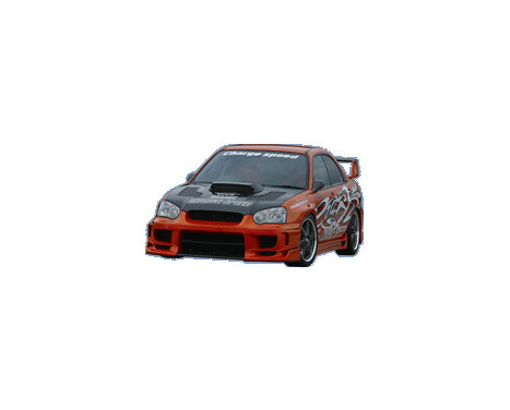 Plaques Carbone CharSpeed Subaru Impreza GD # (AE) pour pare-chocs avant Type2