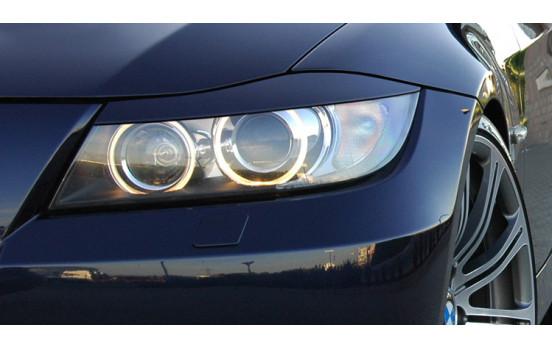 Déflecteurs de phares BMW Série 3 E90 / E91 Berline / Touring, y compris le lifting (ABS)