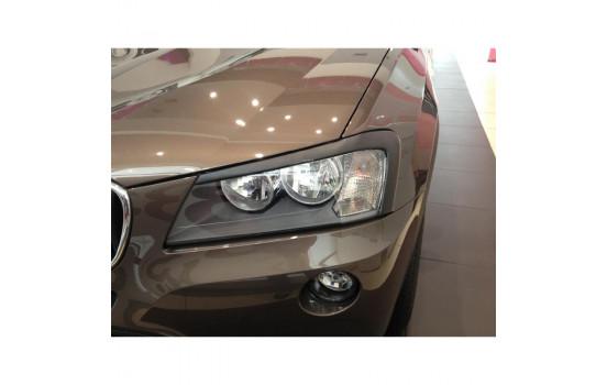 Déflecteurs de phares BMW X3 F25 2010- (ABS)