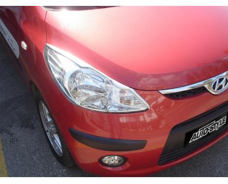 Déflecteurs de phares Hyundai i10 2008-2010 (ABS)