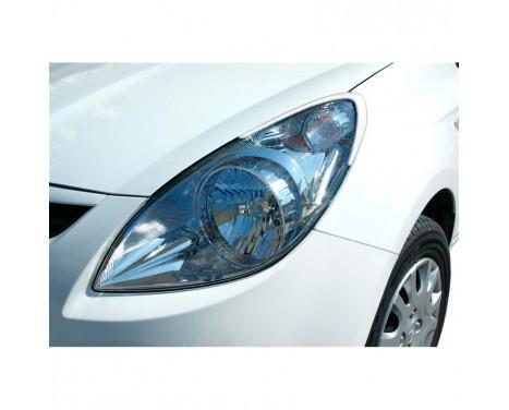 Déflecteurs de phares Hyundai i20 2009-2014 (ABS)