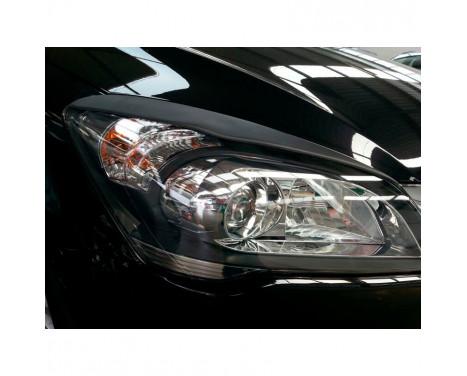 Déflecteurs de phares Kia Cee'd 2006-2012 (ABS)