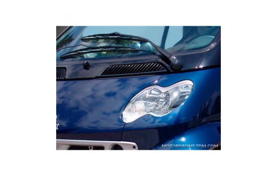 Déflecteurs de phares MCC Smart ForTwo 2002-2006 (ABS)
