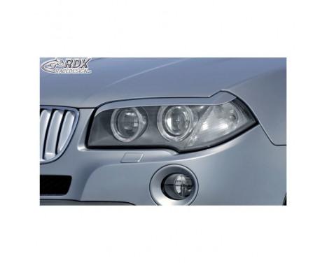 Filtres de phares BMW X3 E83 2004-2010 (ABS)