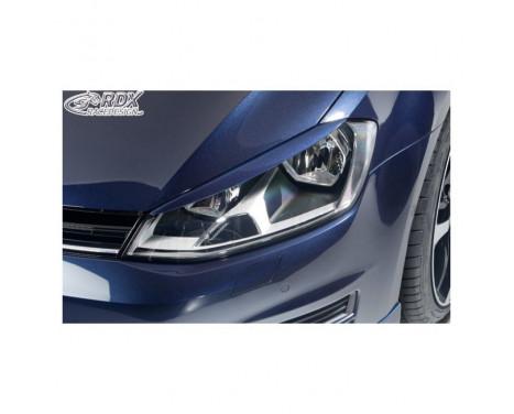 Filtres de phares Volkswagen Golf VII 2012-2017 (ABS)