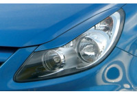Opel Corsa D 2006- spoilers de phares (ABS)