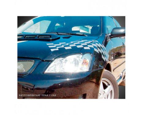 Spoilers de phare Toyota Corolla E12 Hatchback 2002-2007 (ABS)