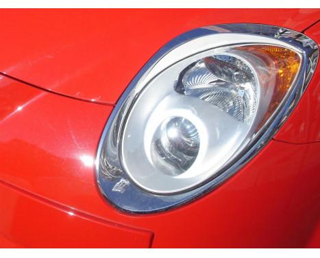 Spoilers de phares Alfa Romeo Mito 2008- (ABS)