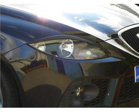 Spoilers de phares Seat Leon / Altea / Toledo 2005-2009 (ABS)