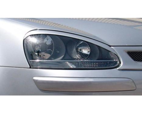 Spoilers de phares Volkswagen Golf V 2003-2008 et Jetta 2005-2010 (ABS)