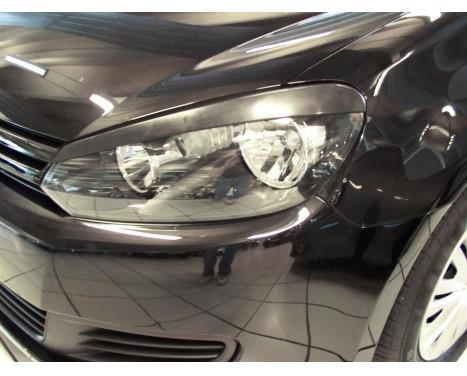 Spoilers de phares Volkswagen Golf VI 2008-2012 (ABS)