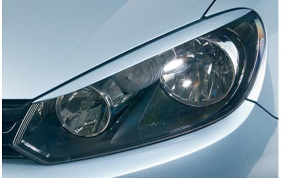 Spoilers de phares Volkswagen Golf VI 2008- (ABS)