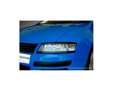 Spoilers phares Fiat Stilo - dessous (ABS)