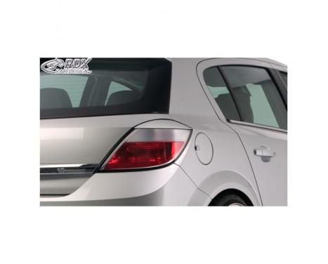 Spoilers pour feux arrières Opel Astra H HB 5 portes 2004-2009 (ABS)
