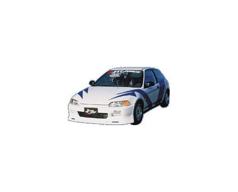 Aileron avant CharSpeed Honda Civic EG HB / Cpé 1992-1995 (FRP) Type1, Image 2