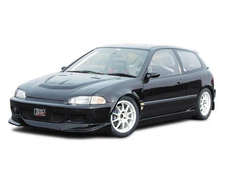 Aileron avant CharSpeed Honda Civic EG HB / Cpé 1992-1995 (FRP) Type2, Image 2