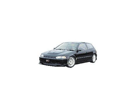 Aileron avant CharSpeed Honda Civic EG HB / Cpé 1992-1995 (FRP) Type2