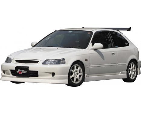 Aileron avant CharSpeed Honda Civic EK 2/3/4-portes 1999-2001 (FRP), Image 2