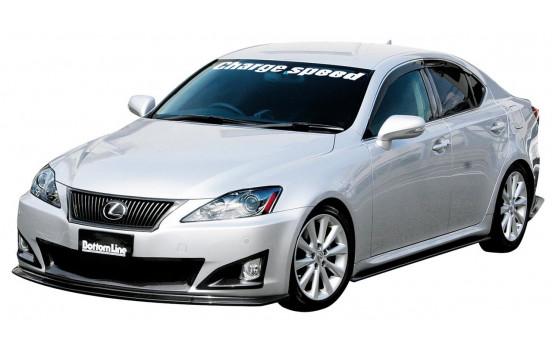 Aileron avant CharSpeed Lexus IS250 11 / 202005- 'BottomLine' (FRP)