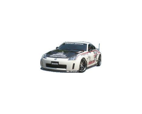 Aileron avant CharSpeed Nissan 350Z Z33 BottomLine (FRP)