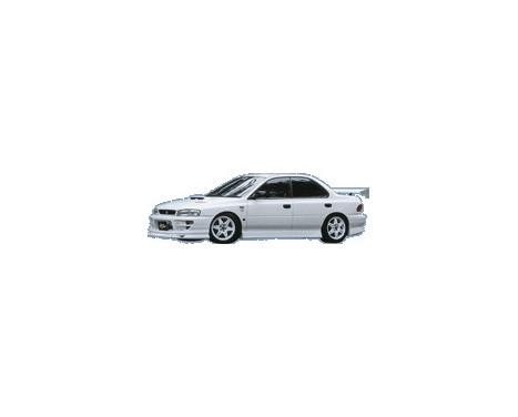 Aileron avant CharSpeed Subaru Impreza GC8 Version 5/6 Type1