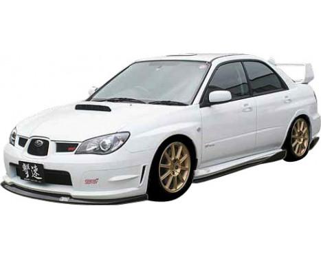 Aileron avant CharSpeed Subaru Impreza GD # BottomLine Type1 (FRP) (F / G), Image 2