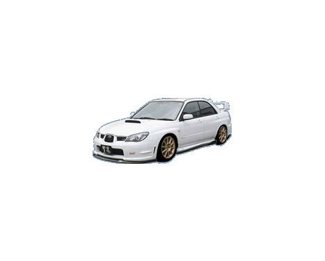 Aileron avant CharSpeed Subaru Impreza GD # BottomLine Type1 (FRP) (F / G)