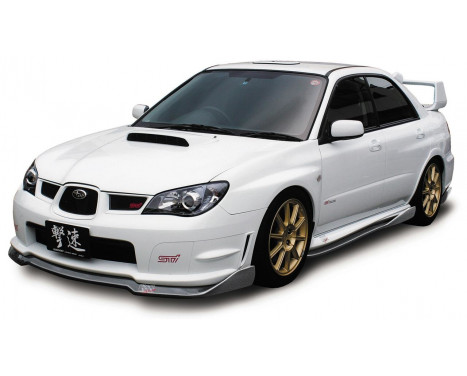Aileron avant CharSpeed Subaru Impreza GD # BottomLine Type2 (FRP) (F / G)