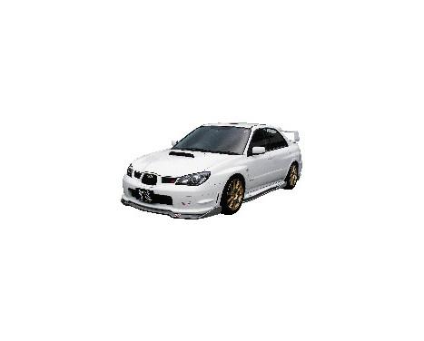 Aileron avant CharSpeed Subaru Impreza GD # BottomLine Type2 (FRP) (F / G), Image 2