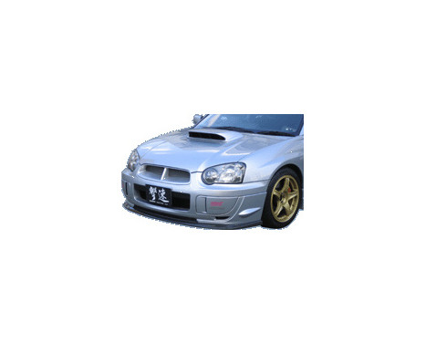 Aileron avant CharSpeed Subaru Impreza GDB BottomLine Type1 (FRP) (C / D / E?, Image 2