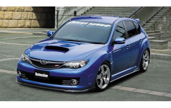 Aileron avant CharSpeed Subaru Impreza WRX STi 2008 - Bottomline 2 (FRP)