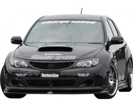 Aileron avant CharSpeed Subaru Impreza WRX STi 2008 - Bottomline (FRP)