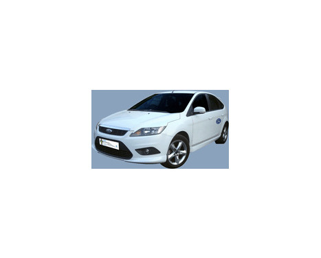 Becquet avant (Angles) Ford Focus II 3/5 portes 2008-2011 (ABS), Image 3