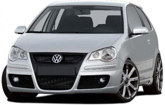 Dietrich Spoiler avant Volkswagen Polo 9N2 2005-2009 'C-Type' (PU)