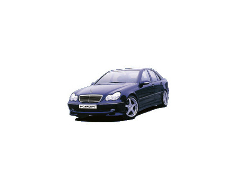 Spoiler avant Carcept Mercedes Classe C W203 2000-, Image 2