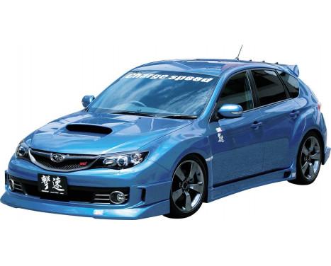 Spoiler avant CharSpeed Subaru Impreza WRX STi 2008 - HalfType (FRP)